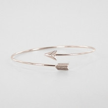Arrow Bracelet - Rose Gold *