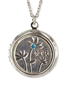 Blue CTR Sparkle Locket ( While supplies last) *