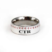 Sport CTR Ring - Baseball (Stainless Steel) *