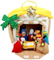 Soft Nativity Manger *