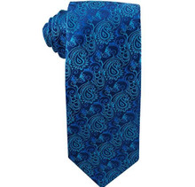 Missionaries on Bikes Aqua Blue Youth Tie ages 8-14