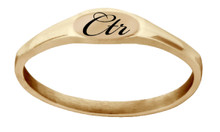 Pixi CTR Ring (Rose Gold) *