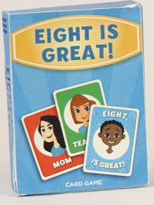 Eight is Great Card Game*