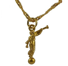 Angel Moroni Gold Necklace *
