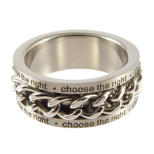 CTR Spinner Chain Ring (Stainless Steel)* While supplies Last