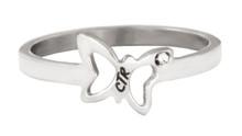 Flutter CTR Ring  (Stainless Steel)