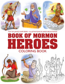 My Book of Mormon Heroes Coloring Book (Paperback) *
