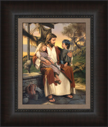 As I Have Loved You 17x20 framed Strata Design  *