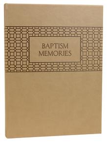 Baptism Memories (Hardcover) *