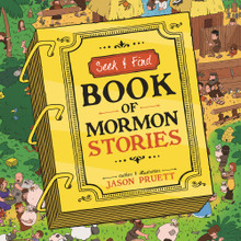 Seek and Find: Book of Mormon Stories (Board Book) *