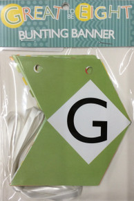 Great To Be Eight Bunting Banner *