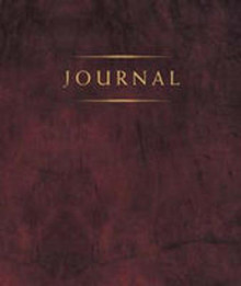 Small Classic Journal (Burgundy) *
