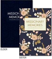 Missionary Memories: A Guided Missionary Journal Elder (Paperback) *