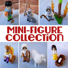 Mini Bible Figures (  six different  figures) *