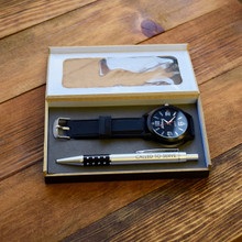 Elder Missionary Gift Set With Pen And Watch
