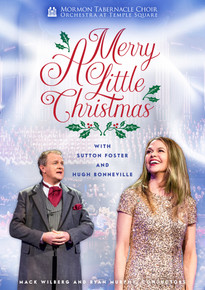 A Merry Little Christmas:  Mormon tabernacle choir & Orchestra at Temple Square(DVD) *