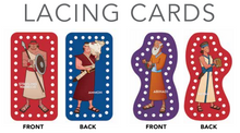 Book of Mormon Lacing Cards