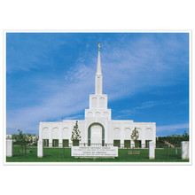 Toronto Temple  Print Only 3X4