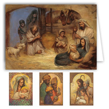 Annie Henrie Nader Christmas Note Card Box Set (20 cards)