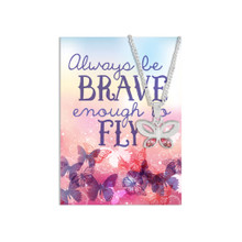 Brave Butterfly Necklace