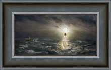 To the Rescue 15x24 framed giclee canvas