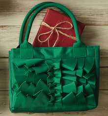 Hailey Green Scripture Tote