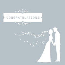 Mini Congratulations Greeting Card with Envelope