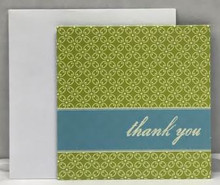 Mini Thank You Greeting Card with Envelope