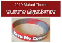 2019 Keep My commandments Silicone Wristband- Youth *