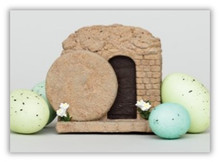 """Easter Tomb Musical Box Plays """"He Is Risen"""" *"""