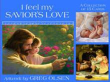 I Feel My Savior's Love Picture Set (3x4 Print Set)