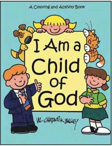 I Am a Child of God Coloring and Activity Book *