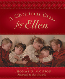 A Christmas Dress for Ellen (Hardcover) *