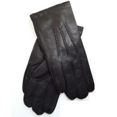 Hilts-Willard Men's Leather Dress Gloves (Black)