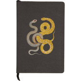 D.L. & Co. Glitter Snake Large Journal (Black)
