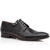 Lloyd 1888 Rylon Wing Tip Lace up Shoe (Black)