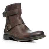 Lloyd Madrid Zip Motorcycle Boot (Brown)