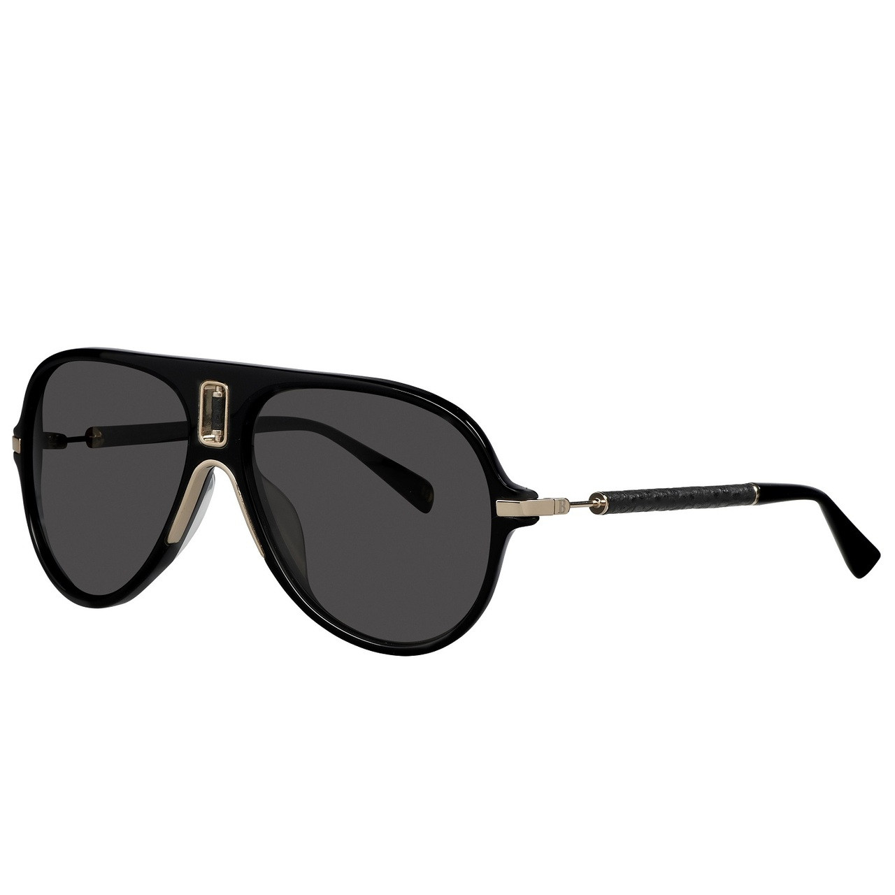07763c75a5e574 Balmain Limited Edition STUDIO Acetate Cutout Aviator Sunglasses. Price:  $500.00. Image 1. Larger / More Photos