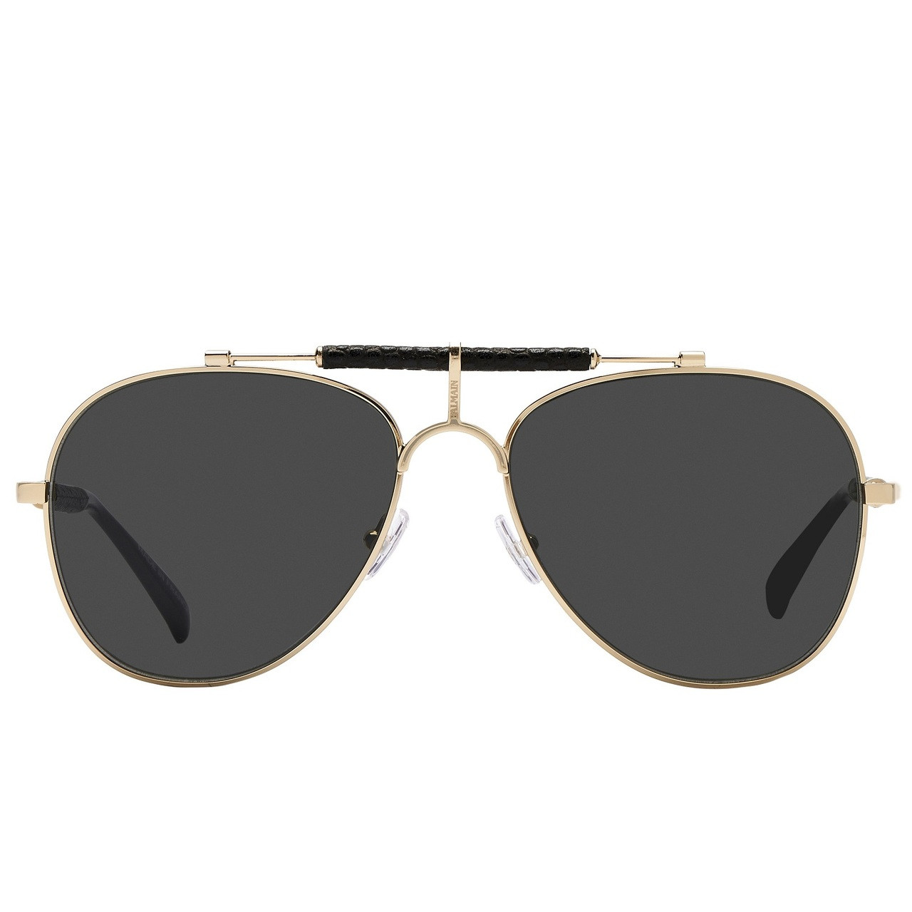 875e8c852119d5 Balmain Limited Edition STUDIO Brow Bar Aviator Sunglasses. Price: $500.00.  Image 1