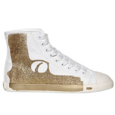 Maison Dumain by Be & D Pistol High Top Sneaker (Gold)