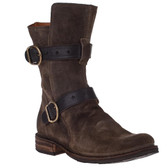 Fiorentini + Baker Suede Eternity Mid-Shaft Boot