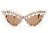 A-Morir Lena Cat-eye Sunglasses