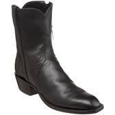 Lucchese Classics Matador Buffalo Calf Boot (Black)