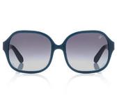 Proenza Schouler Square Sunglasses (Cerulean)