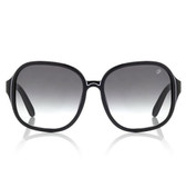 Proenza Schouler Etched Square Sunglasses (Black)