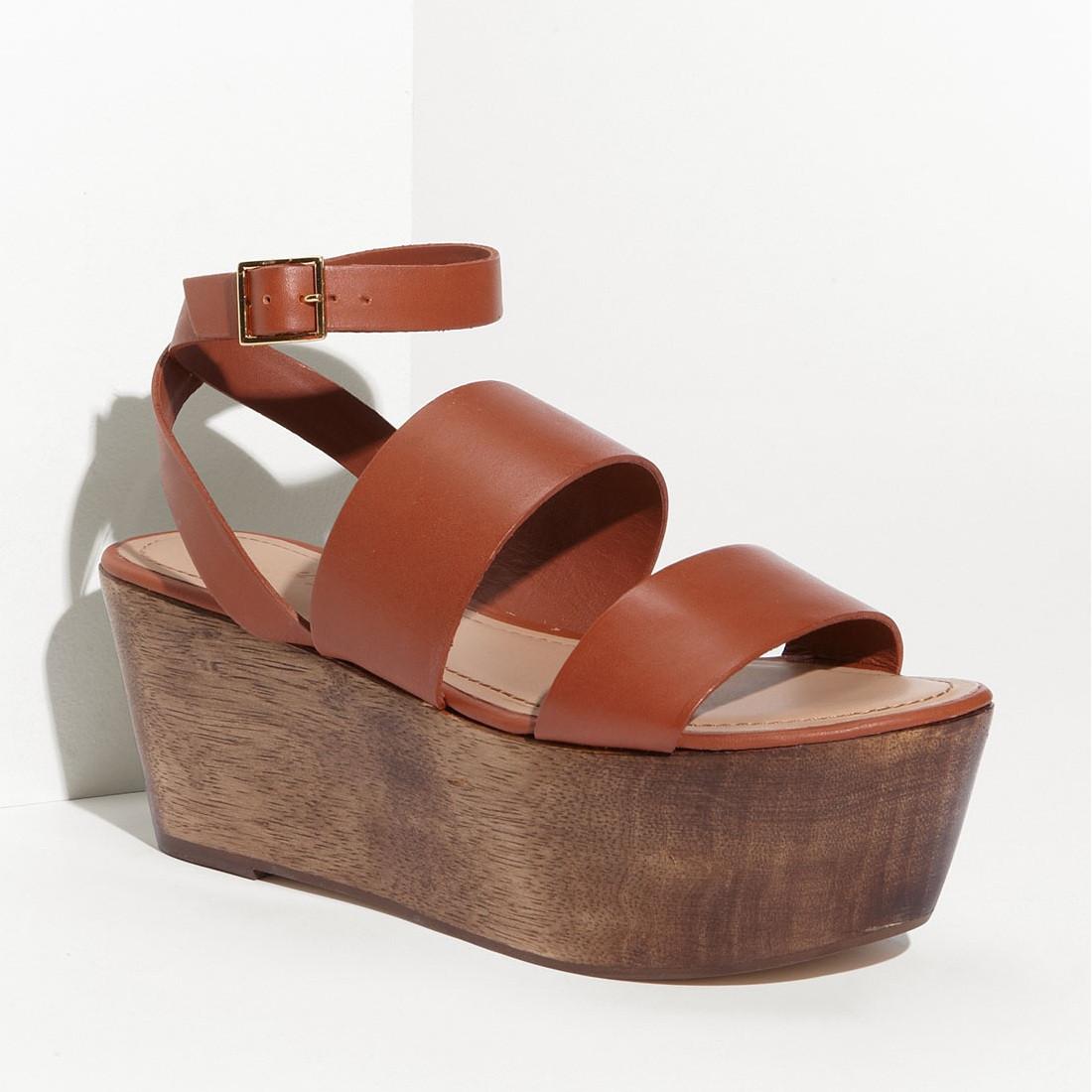 a04e747a1 Elizabeth and James Bax Platform Sandal. Price   265.00. Image 1