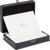 D.L. & Co. Black Resin 'Flourished Bird' Correspondence Box (set of 12)