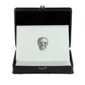 D.L. & Co. Black Resin 'Skull' Correspondence Box (set of 12)