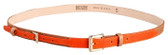 Be & D Jeffrey Two-Toned Leather Belt