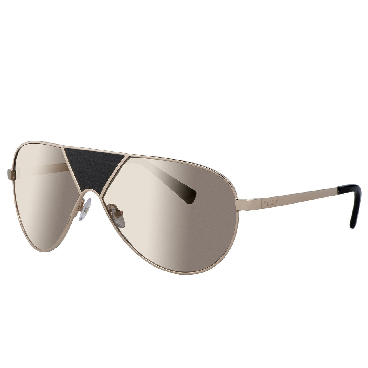 ea41031e758a4d Balmain Limited Edition STUDIO Mask Framed Aviator Sunglasses. Price:  $500.00. Image 1. Larger / More Photos